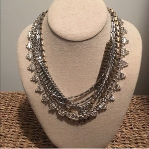 Stella and Dot mixed metal Sutton necklace